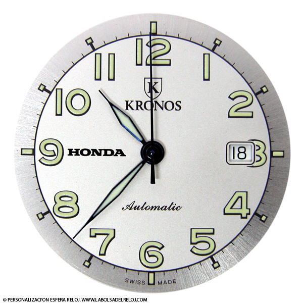 Esfera Reloj Esfera De Reloj Blanca 160 Mm