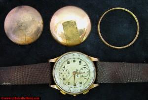 Reloj Breitling antes de ser restaurado