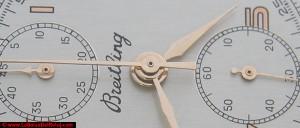 Restauración de agujas de reloj de pulsera