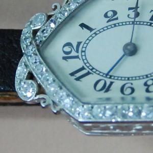 reloj restaurado oro blanco