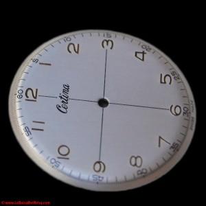 Vista de restauración de esfera de reloj Certina