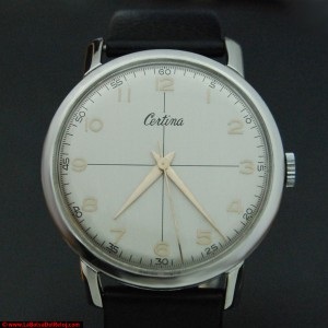 Reloj Certina antiguo restaurado