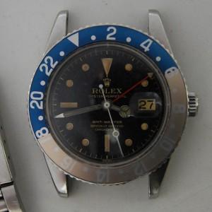 Rolex GMT Master antes de su restauración
