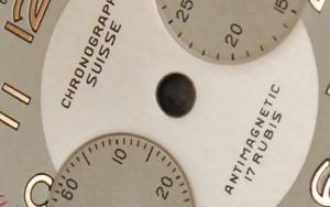 Esfera de reloj Chronographe Suisse