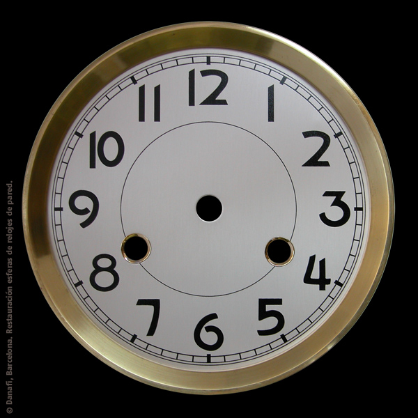 Esfera pared arreglar y repintar relojero - Relojes de pared ...