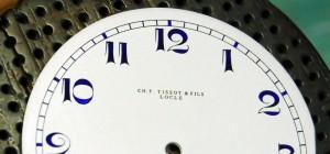 Detalle de la marca CH. F. TISSOT & FILS LOCLE.