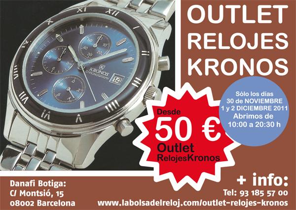 Outlet reloj Kronos en Danafi relojería