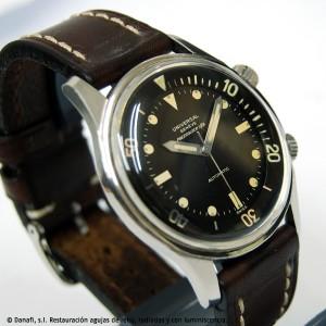 Juego de agujas reloj Universal Genève