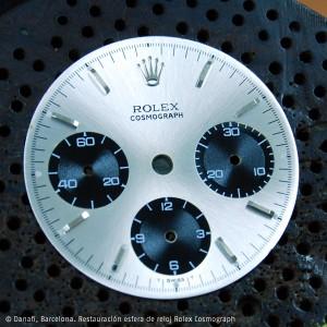 Esfera reloj Rolex Cosmograph