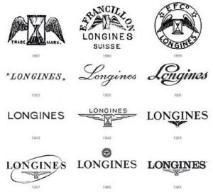 Evolución de la marca y logotipo relojes Longines