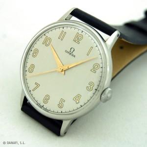 Reloj Omega restaurado y reparado