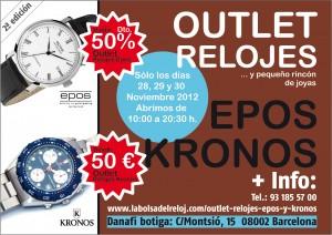 Outlet relojes Epos y Kronos Danafi botiga