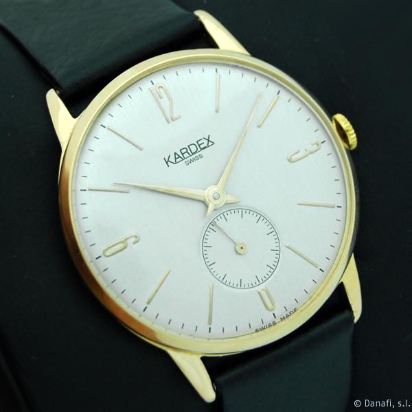 Restauracion reloj Kardex Swiss