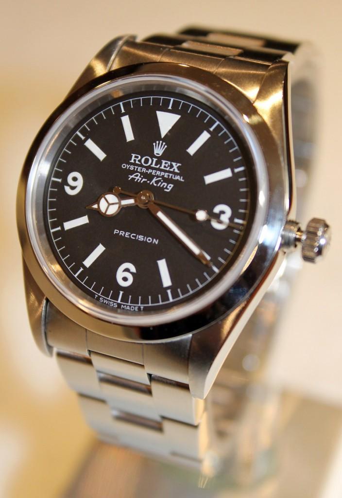 Personalizar reloj caballero Rolex Air King.
