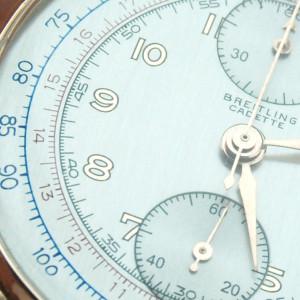 Breitling Cadette restauracion y reparación reloj cronometro
