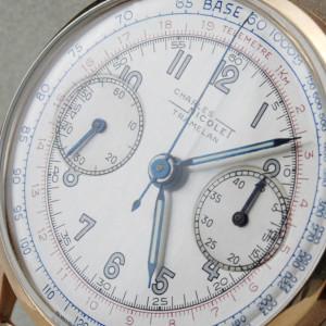 Charles Nicolet Tramelan. Restaurar y reparar reloj Chronometro