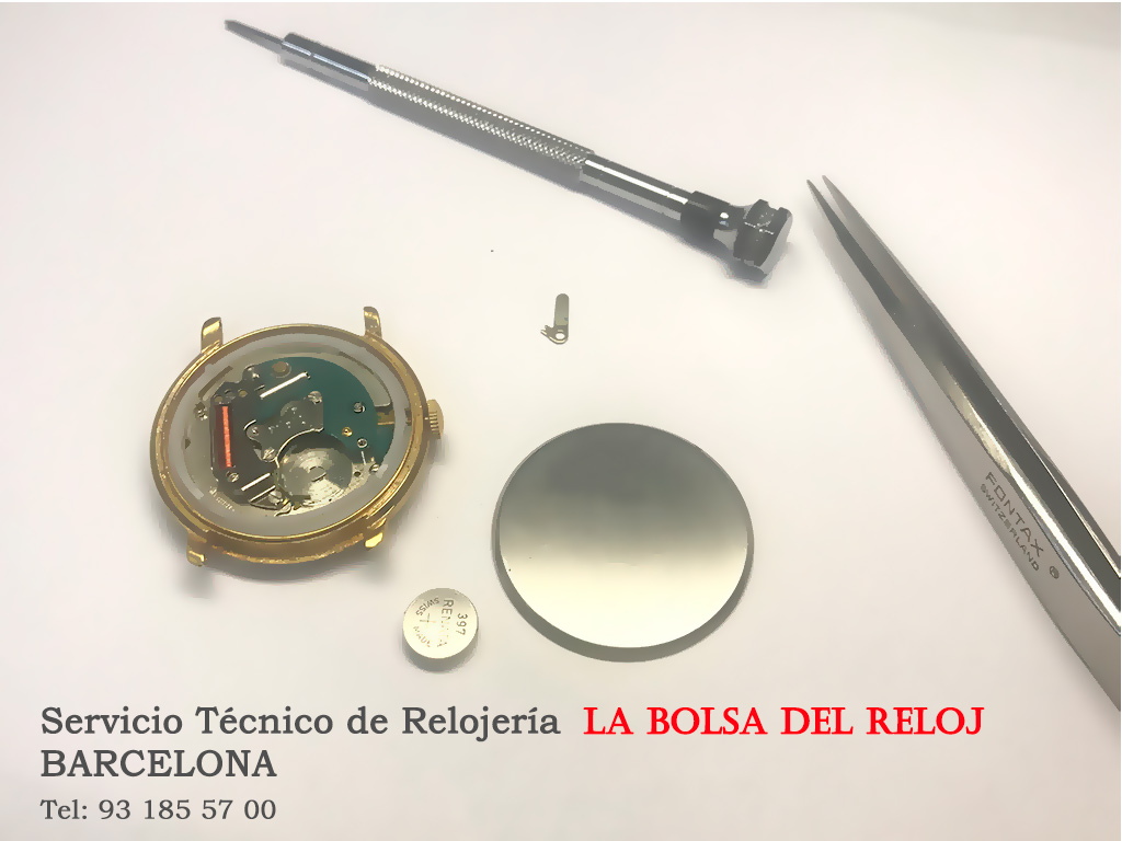 Cambio Pila de Reloj Barcelona_Serivio Técnico Relojería. BCN